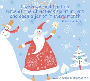 Christmas quote... Christmas spirit...