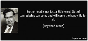 Comradeship quote #2