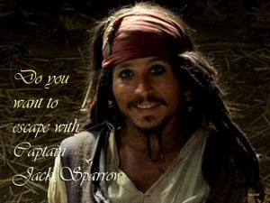Pirates of the Caribbean Jack Sparrow ♥