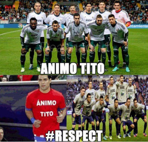 Real Madrid and Barcelona Are United in Animo Tito