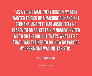 More Pete Townshend Quotes