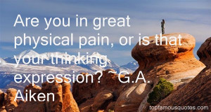 Top Quotes About Physical Pain
