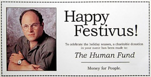 December 23: Festivus Day, Roots Day, Pfeffernuesse Day