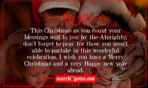... wish you have a Merry Christmas and a very Happy New Year ahead