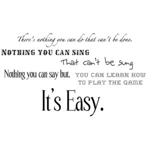 Cool Beatles Lyric Quotes: The Beatles Lyrics Image By Redice2524895 ...