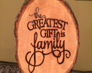 Handmade rustic country wood burned wooden plaque/sign pyrography wall ...