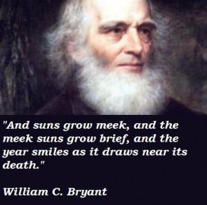 William c bryant famous quotes 5