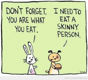 Funny Skinny Quotes...