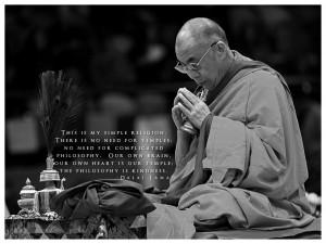 Do you like the Dalai Lama or agree with his teachings?