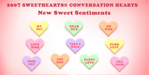 Best (and Worst) Candy Heart Sayings of All Time