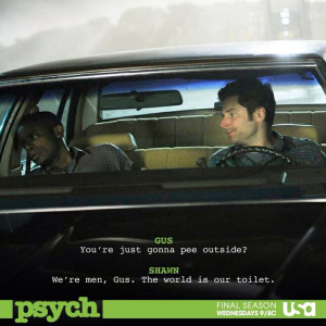 My favorite psych quote of all time:D gonna miss this show #cmonson