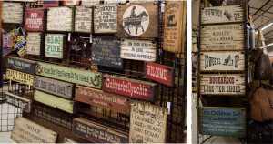 Country sayings on wooden signs - fun Western gift idea!