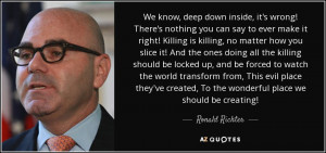 Ronald Richter Quotes