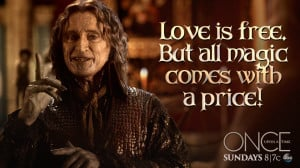... as Rumplestiltskin in 'Once Upon a Time' Facebook/ Once Upon a Time