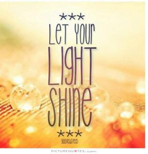 Shine Quotes