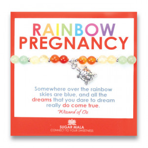 Rainbow Pregnancy Bracelet, Miscarriage Protection, Inspirational ...