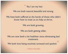 Natural hair poem. More