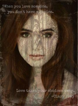 Clary Fray believes in love #mortalmovie