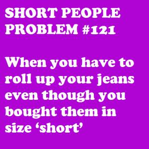 Description: Short People Problems