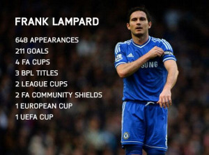 After 13 years at the club, Frank Lampard says goodbye to @chelseafc ...