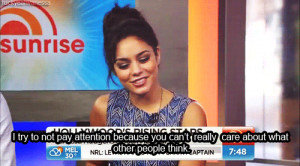 Vanessa Hudgens's quote #5