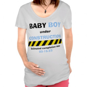 Funny Baby Boy Maternity Pregnancy Women T Shirt