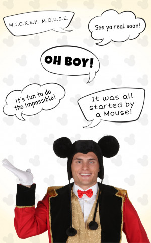 Mickey Mouse Famous Quotes