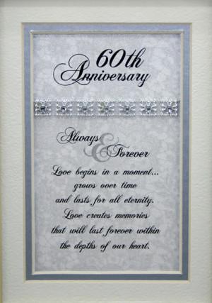 verses for 60th wedding anniversary