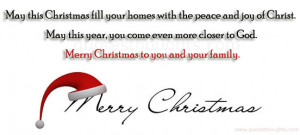 Merry Christmas Christian Quotes Merry christmas