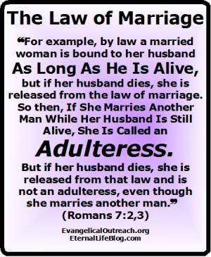 tell you that anyone who divorces his wife, except for marital ...