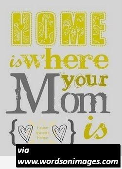 Awesome mom quote summer mom home