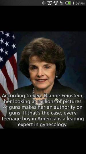 Quote The Day Senator Dianne Feinstein