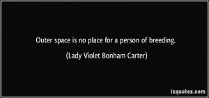 Outer Space Place For...