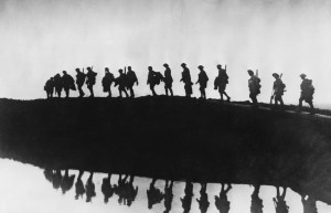 World War 1 Silhouette