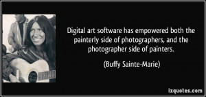Digital art software has empowered both the painterly side of ...