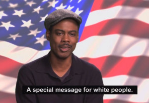 Chris Rock Has A Message For White Voters