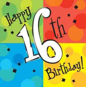 Happy 16Th Birthday 07