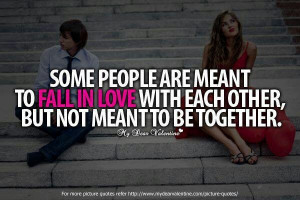 Not meant to be