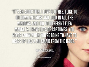 Its an addiction, i love clothes quotes