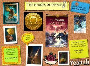 THE HEROES OF OLYMPUS.