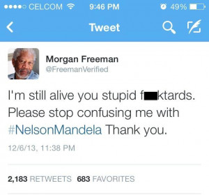 What The Internet Did With Nelson Mandela's Death