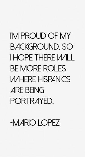 Mario Lopez Quotes amp Sayings
