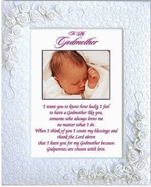 Godparents Poem Godchild Picture