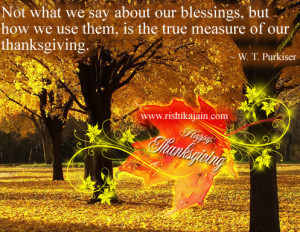 Thanksgiving Quotes.... | Inspirational Quotes - Pictures ...