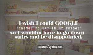 wish I could google