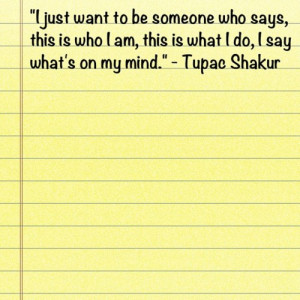 Quote #Tupac #Shakur #2pac (Taken with instagram )