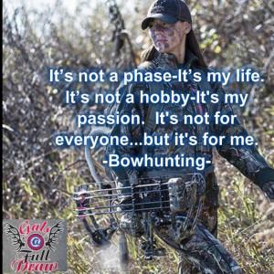 Bow Hunting Sayings