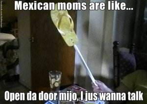 Mexicans moms are like...