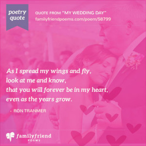 Wedding Day Poems and Quotes