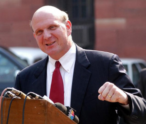 Steve Ballmer's departure leaves Microsoft's board with 10 members ...